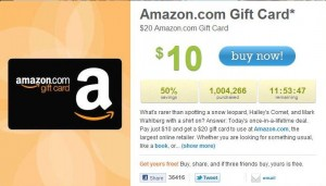 Gift card and promotional codes for amazon uk